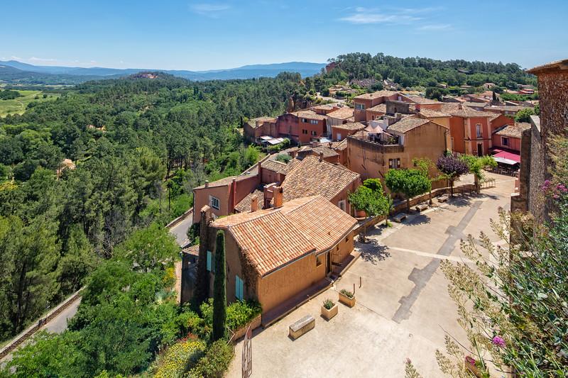 Ocher village Roussillon