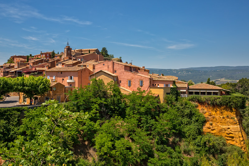 The small village of Roussillon