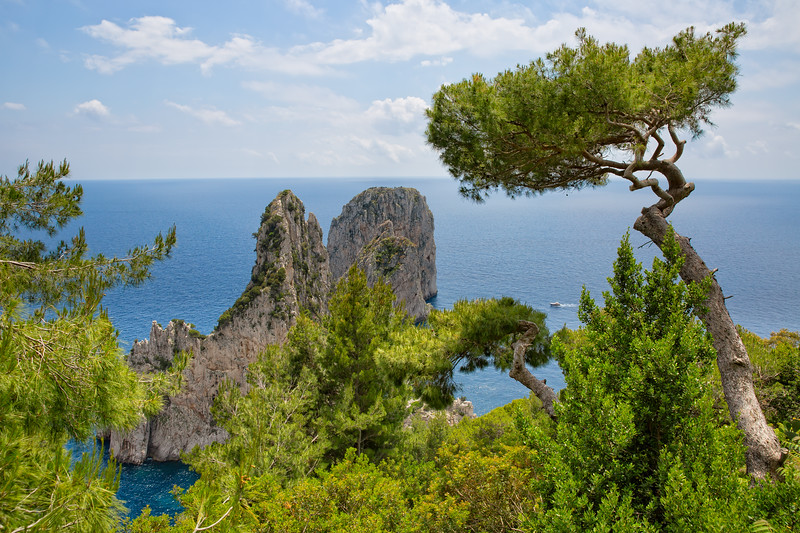 The Faraglioni Rocks located on the coast of Capri have always been one of the main attractions of the small Italian island