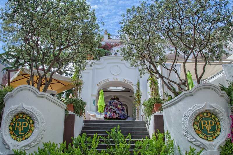 Entrance to Hotel La Palma