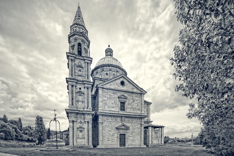 The Renaissance church Madonna di San Biagio.