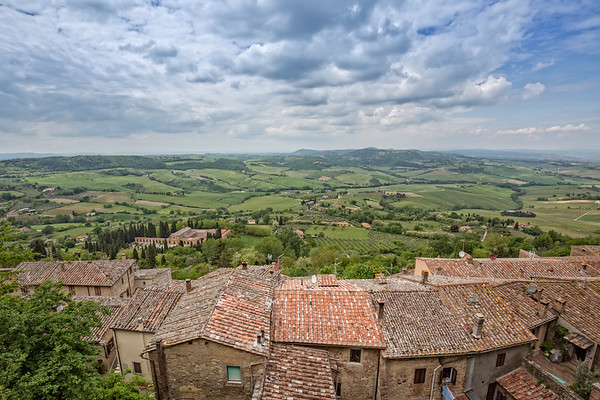 Landscape of the Tuscany.