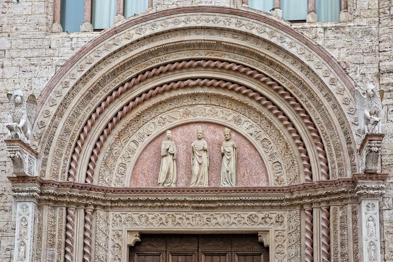 Beautiful architecture in Perugia