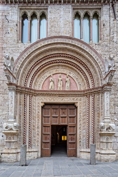 Beautiful architecture in Perugia