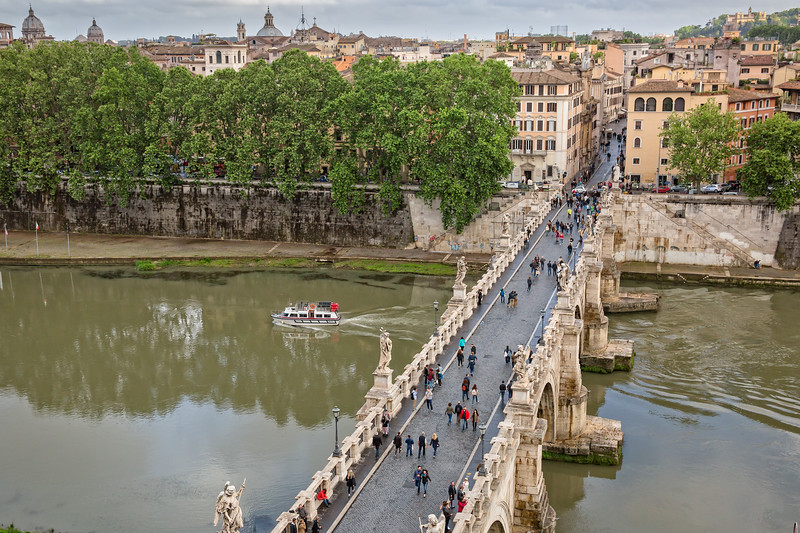 Ponte Sant'Angelo: Rome's Bridge of Angels