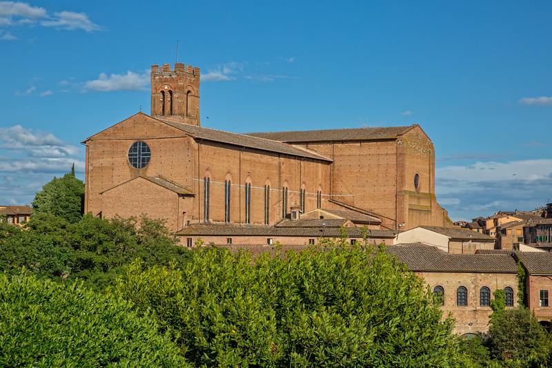 San Domenico church in Siena