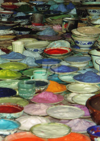 Paints, China
