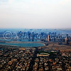 Sharjah city, seen after departure from Dubai airport.
