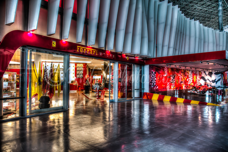 Ferrari Store in Ferrari World, Abu Dhabi