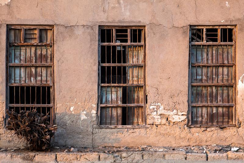 Old building demolished in Khor Fakkan.