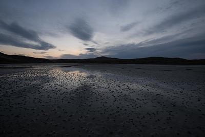 Pre-dawn on Uig sands