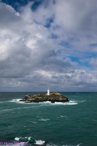 Godrevy Lighthouse.