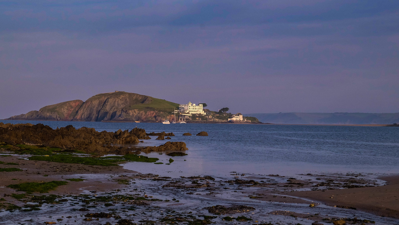 Burgh Island from Bantham Beach