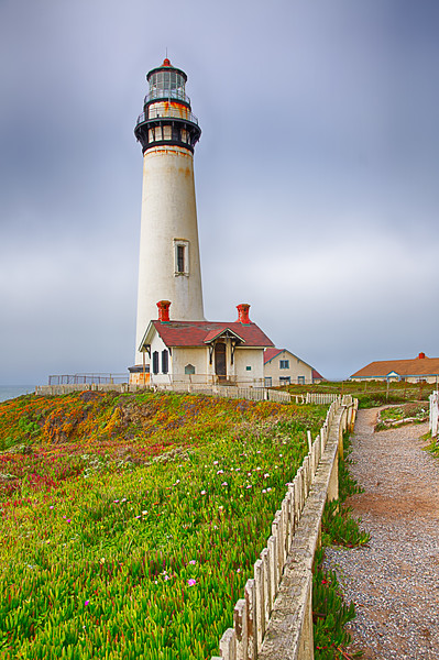 A walk to the Pigeon Point Lighthouse