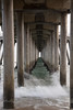 Under the Pier 3 | Slowing time under the Huntington beach pier.