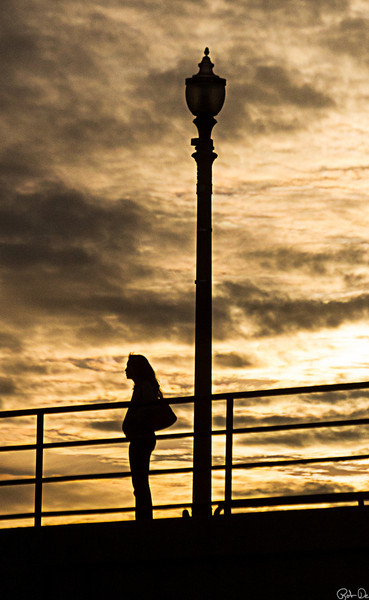 Alone on the Pier