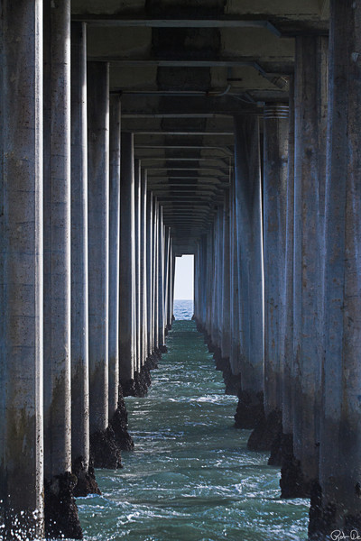Under the Pier 1 | Huntington Beach, CA