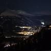 View from Boreas Pass at night