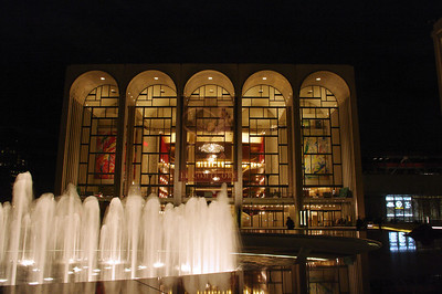 The Metropolitan Opera House at Lincoln Center for the Performing Arts