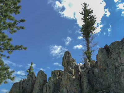 Custer Peak, South Dakota