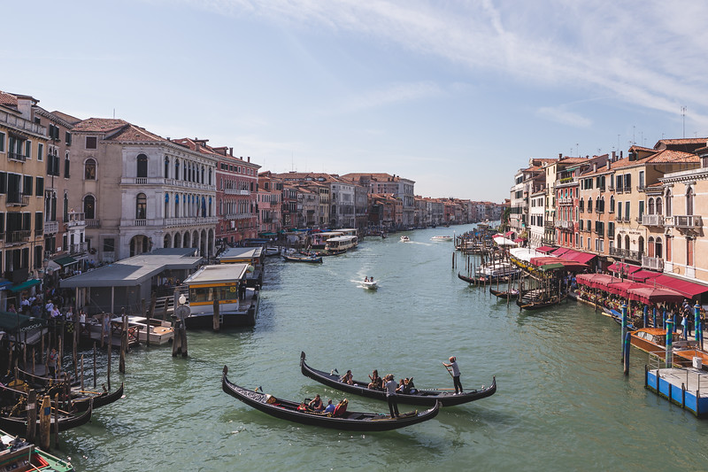 A priceless view of the Grand Canal 🚣�