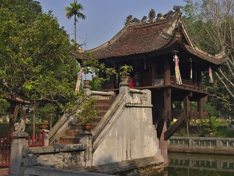 One Pilar Pagoda.