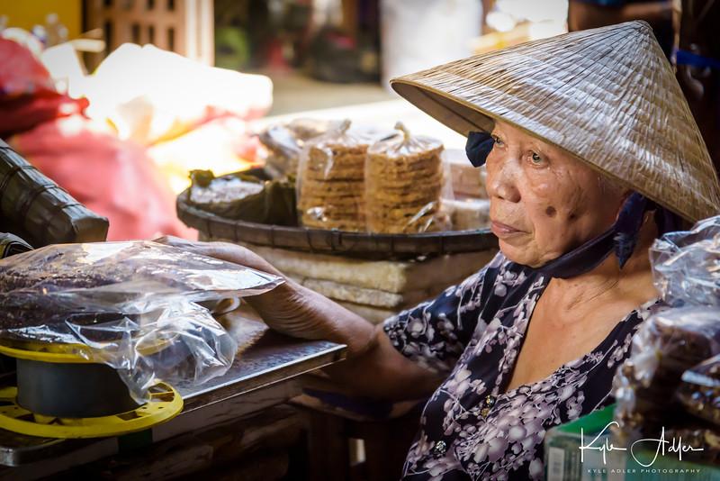 Hoi An's market.