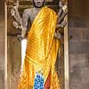 Buddha statue at Angkor Wat.