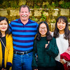 Getting to know Dalat University students,  Nhi , Diễm, and Giang.