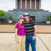 Portrait in front of the Ho Chi Minh Mausoleum.  Photo credit: Nguyen Hanh Phuc (Phil).