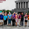 Group portrait at the mausoleum.  Photo taken by a local photographer.