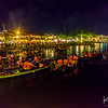 Nightlife on the river in Hoi An.
