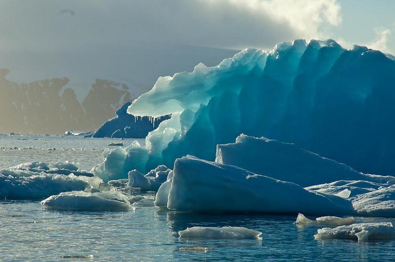 Ice Formations. Antarctic Peninsula