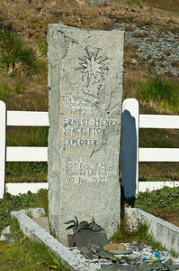 Ernest Shackleton Grave: Grytviken