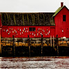 "W-2 - Mofit #1, Bearskin Neck, Rockport, Mass. ""America's most painted building."""