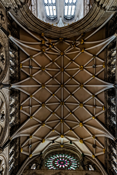 York minster looking to the heavens