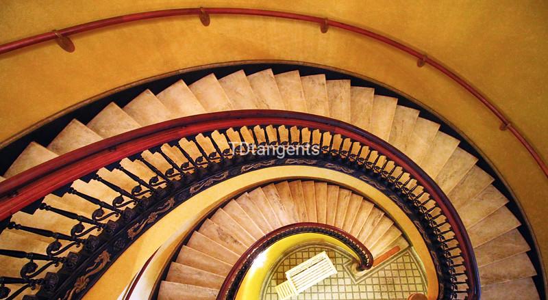 Staircase at Arlington Hotel