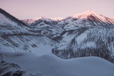 Yakutsk to Oymykon, Siberia. Copyright Bradley White 2014