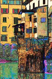 Ponte Vecchio on Acid