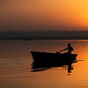 Sunrise Boatman<br /> <br /> Varanasi, India