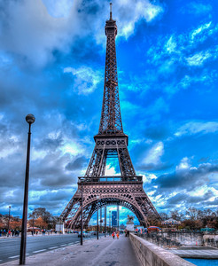 Eiffel Tower Paris France