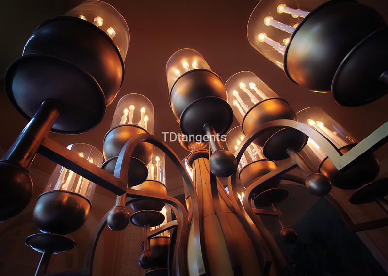 Lamp in Arlington Hotel Lobby