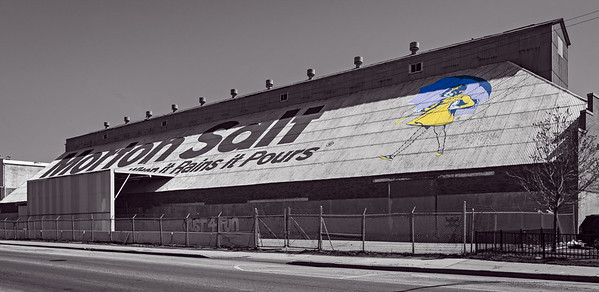 Chicago's Iconic Morton Salt Shed