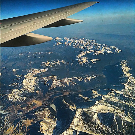 Rockies, up in the air #USA