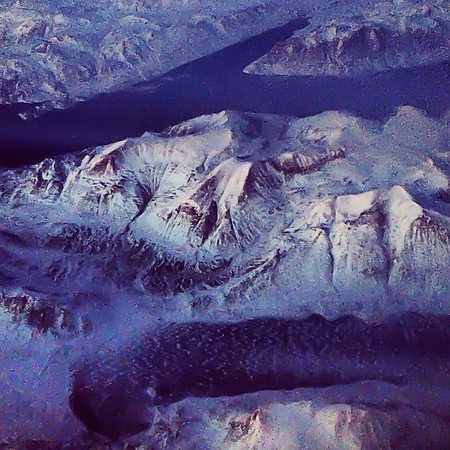 Greenland, up in the air. Tonight's pre-game amazingness en route to New Zealand #FlyAirNZ