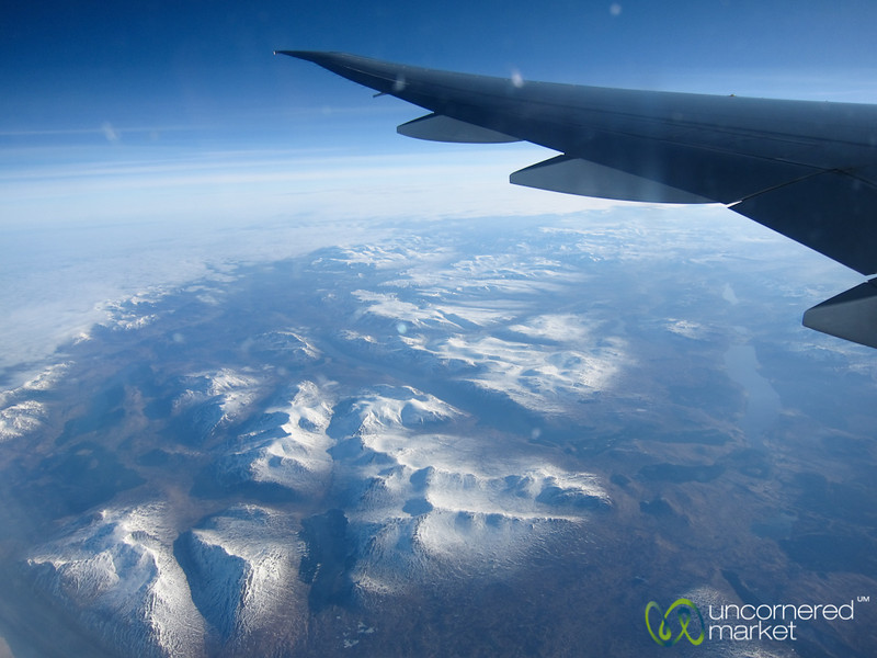 Up in the Air - Flying Air New Zealand to Europe