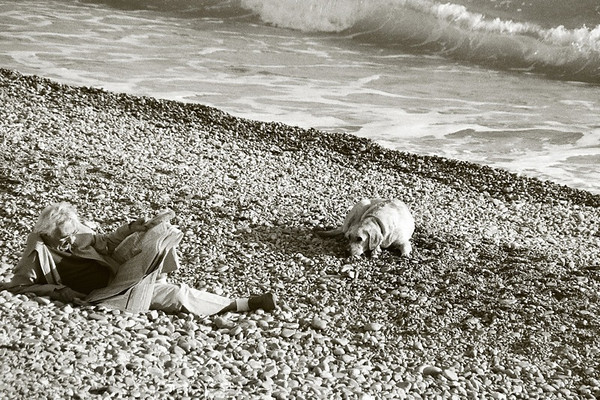 Man and His Dog - Nice, France
