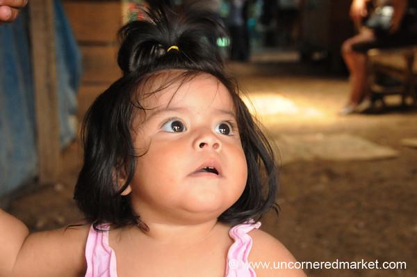 Round-Faced Honduran Girl - La Esperanza, Honduras