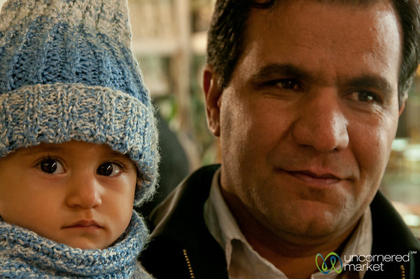 Iranian Father and Child - Esfahan, Iran