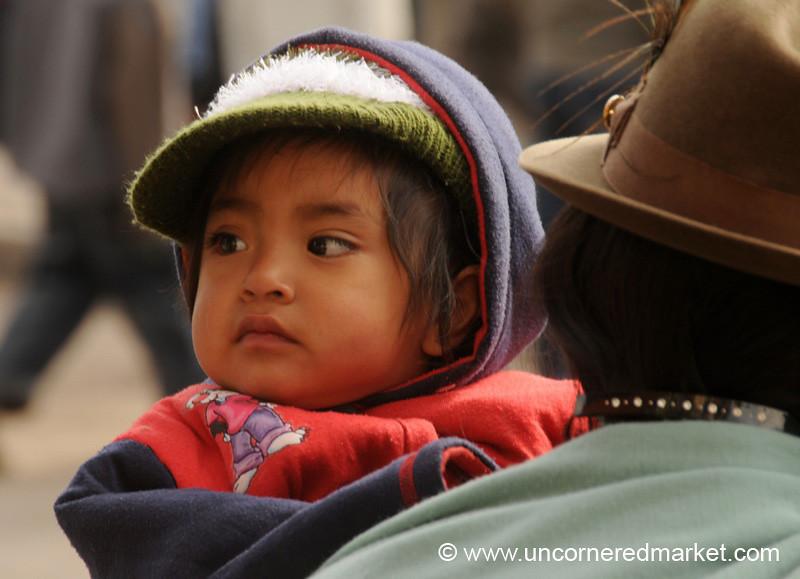 Little Guy - Zumbahua, Ecuador